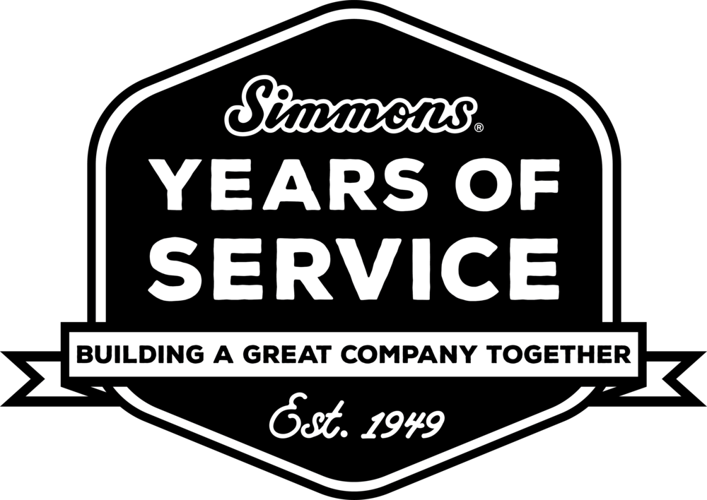 Simmons Foods Years of Service Logo