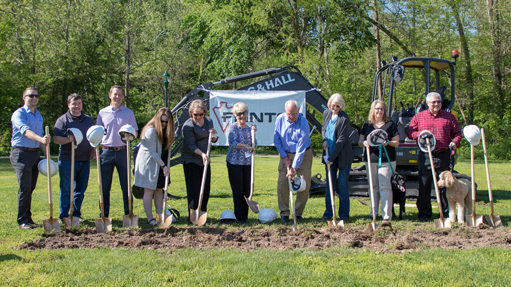 Groundbreaking for Siloam Springs Dog Park