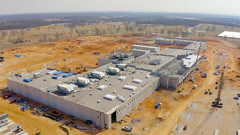 Simmons' Benton County Processing Facility