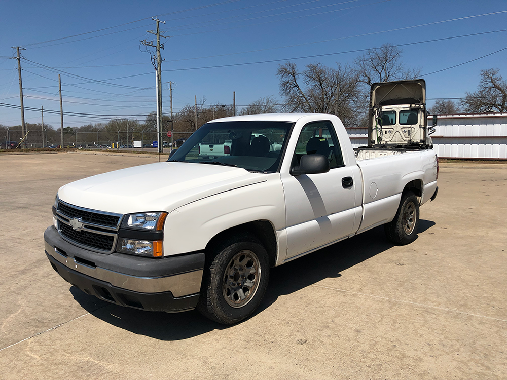 Truck #1860 - This is a 2007 Chevrolet with 213,050 miles. No known issues.