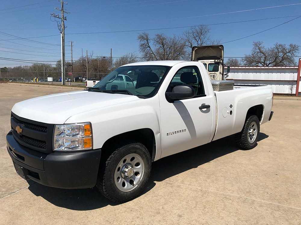 Truck #2444 - This is a 2013 Chevrolet with 146,089 miles and propane system. Known issues: tire pressure light, engine code, propane doesn't work