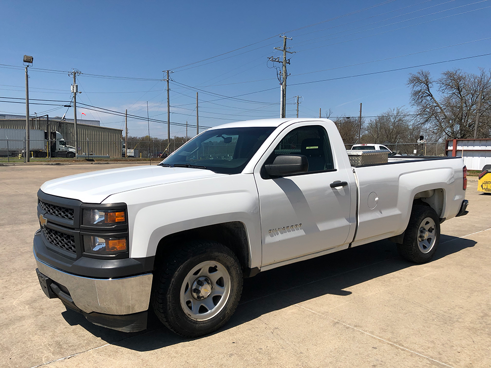 Truck #2471 - This is a 2014 Chevrolet with 165,125 miles. Known issue: power steering