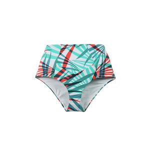 817d6f843e Ore Highwaisted Bikini Bottom - Palm Print Estuaries Swimwear ...