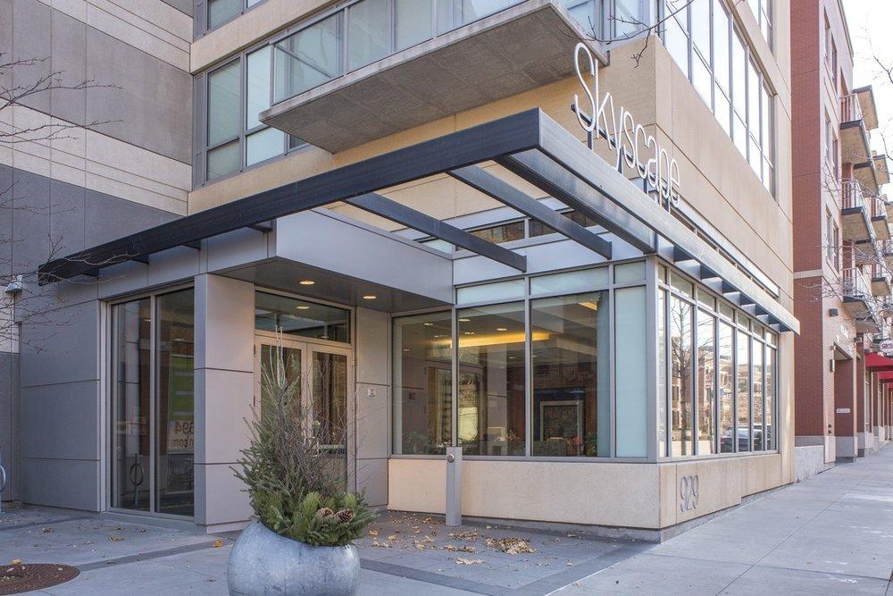 Skyscape Condos Building Exterior