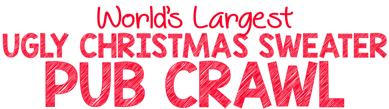 World's Largest Ugly Christmas Sweater Pub Crawl