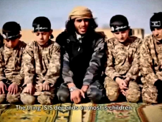 Image captured from Islamic State propaganda video release