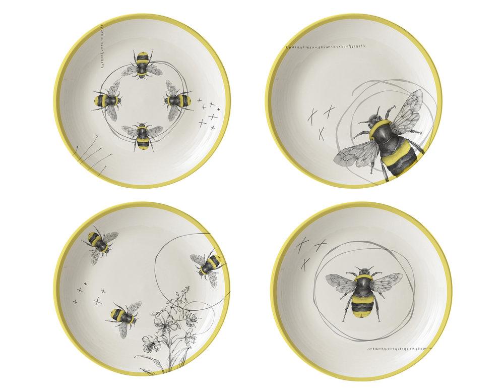 CA HI New Bee Appetizer plates.jpg