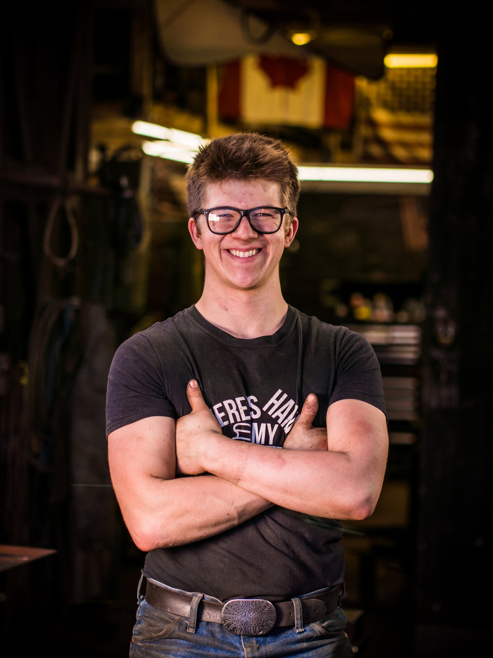 Alec Steele Blacksmith Youtuber Front Profile