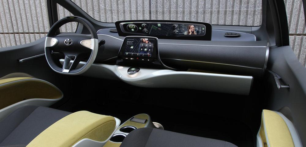 Toyota Prius - Interior Design — Daryl Harris