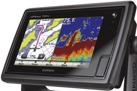 Chartplotters gps radar marine