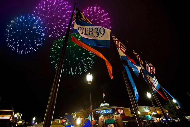 pier 39 4th of july