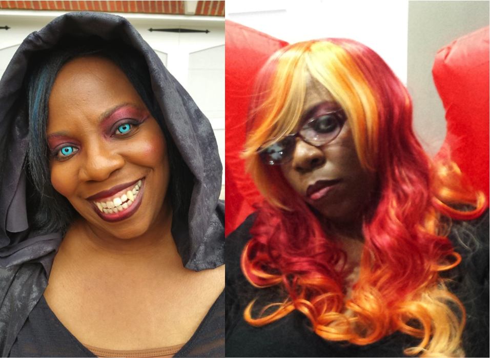 Halloween 2015 Day Look and Night Look