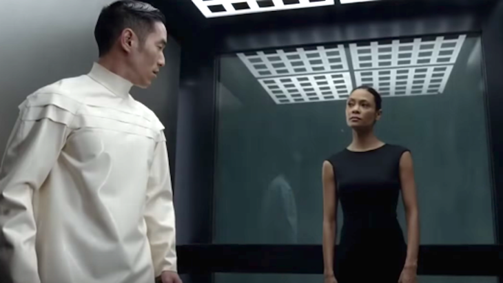 Felix and Maeve on HBO's Westworld