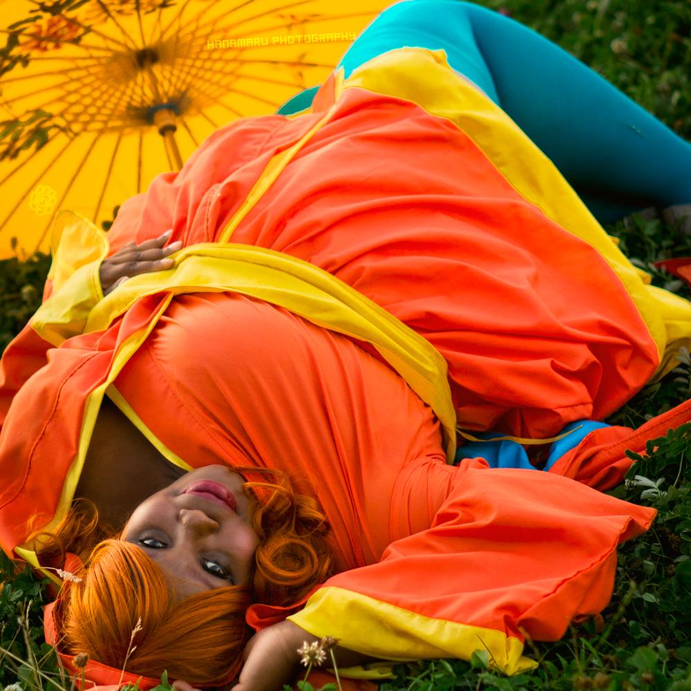 Kimono Charizard by  Hanamaru Photography