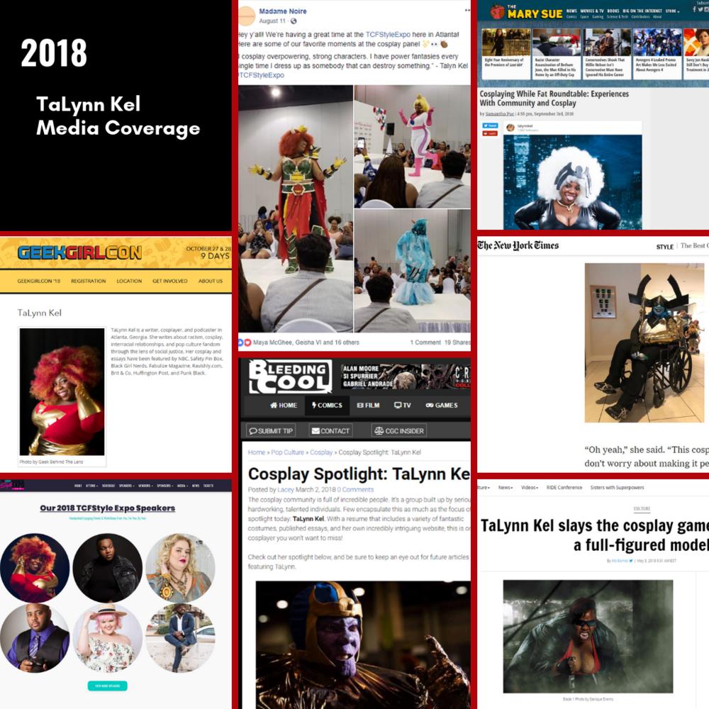 2018 Media Coverage