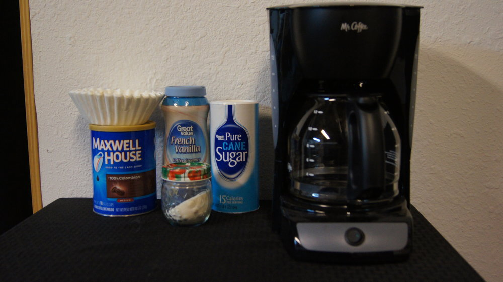 Powdered Wal-Mart creamer, the real taste of music.