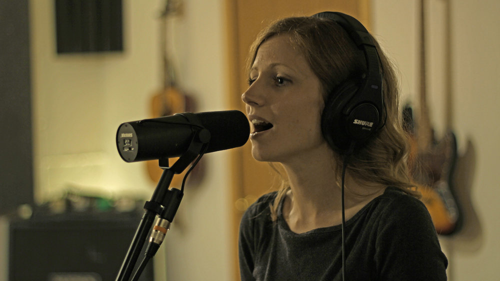 Becky Holt, a harmony vocal machine.