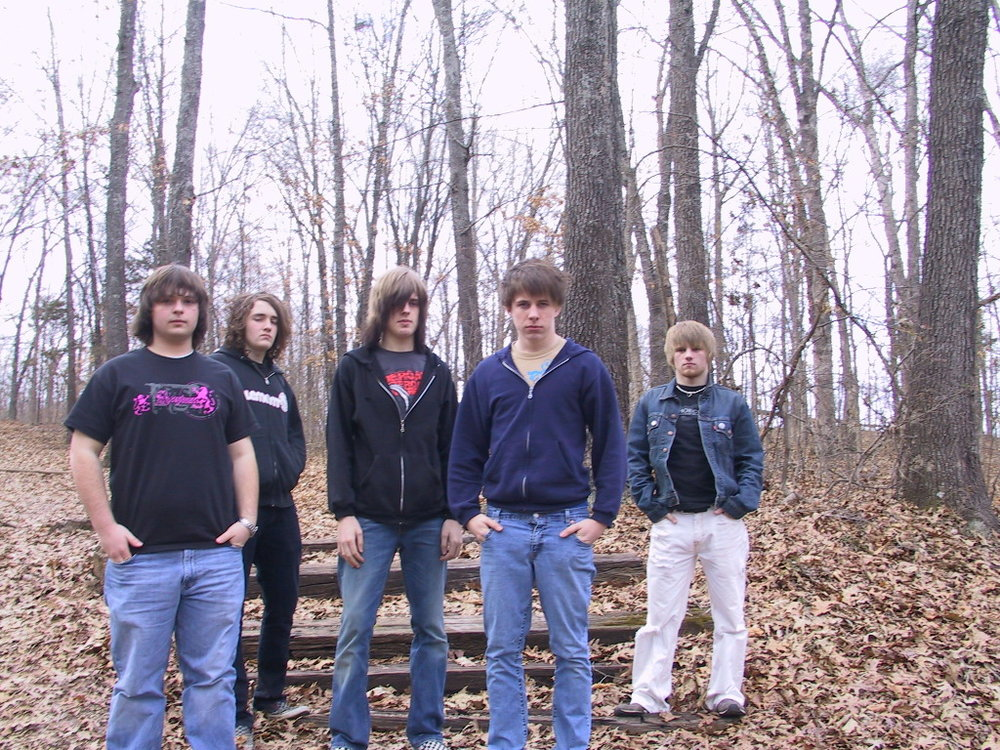 My high school band, Writing The Epic, circa 2007