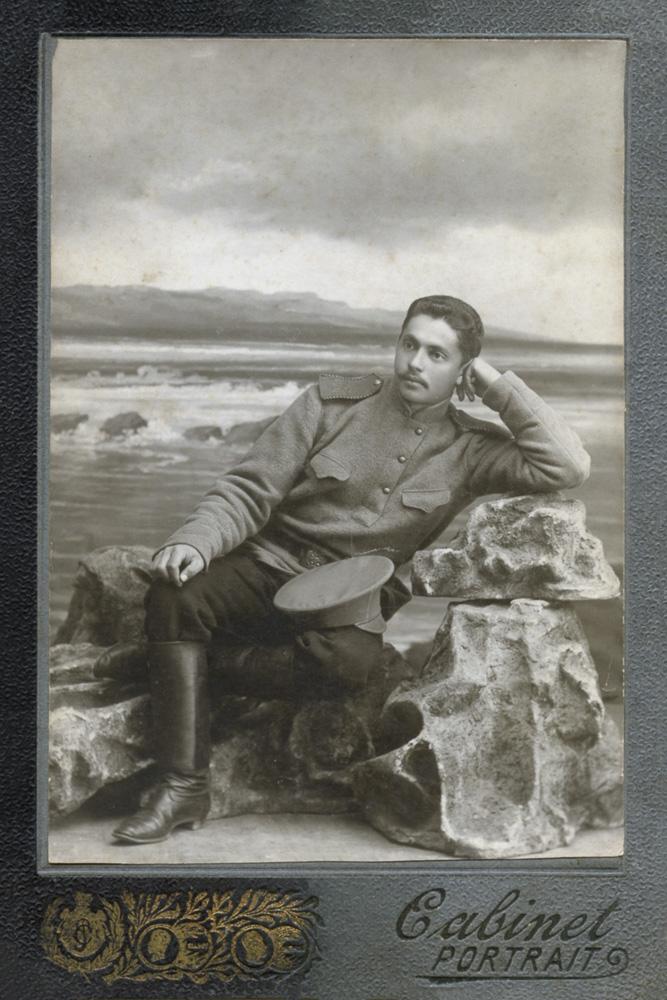 My maternal grandfather, Boris Lenoff in Russia