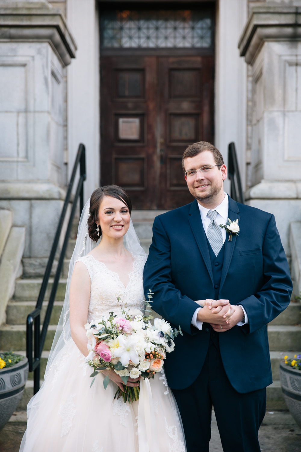 Britt-Griffin Wedding at Historic Dekalb Courthouse | Photo:   Tim Redman