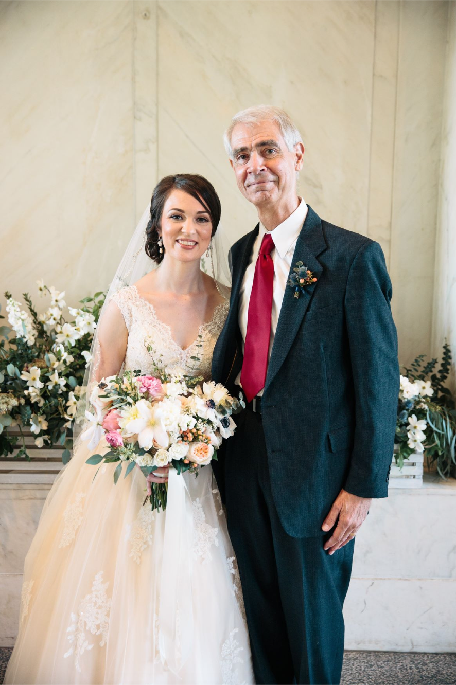 Bride with Father of the Groom | Photo:   Tim Redman