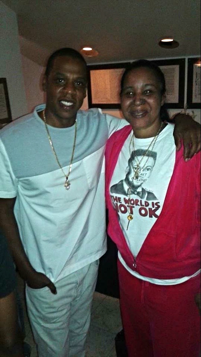 Jay-Z and Esaw Garner.