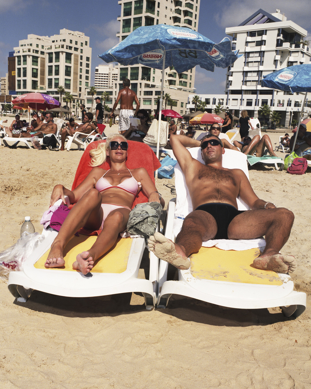 Couple Sunbathing, 2011