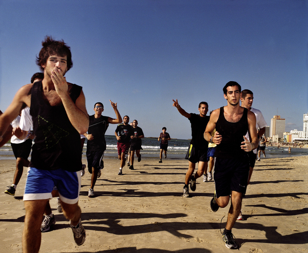 Basic Training, 2010   Israeli teenage boys get in shape as part their pre-military training.