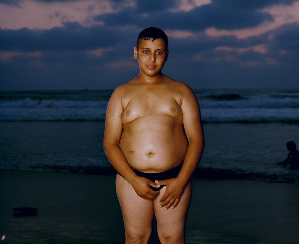 Boy on Jaffa beach, 2008