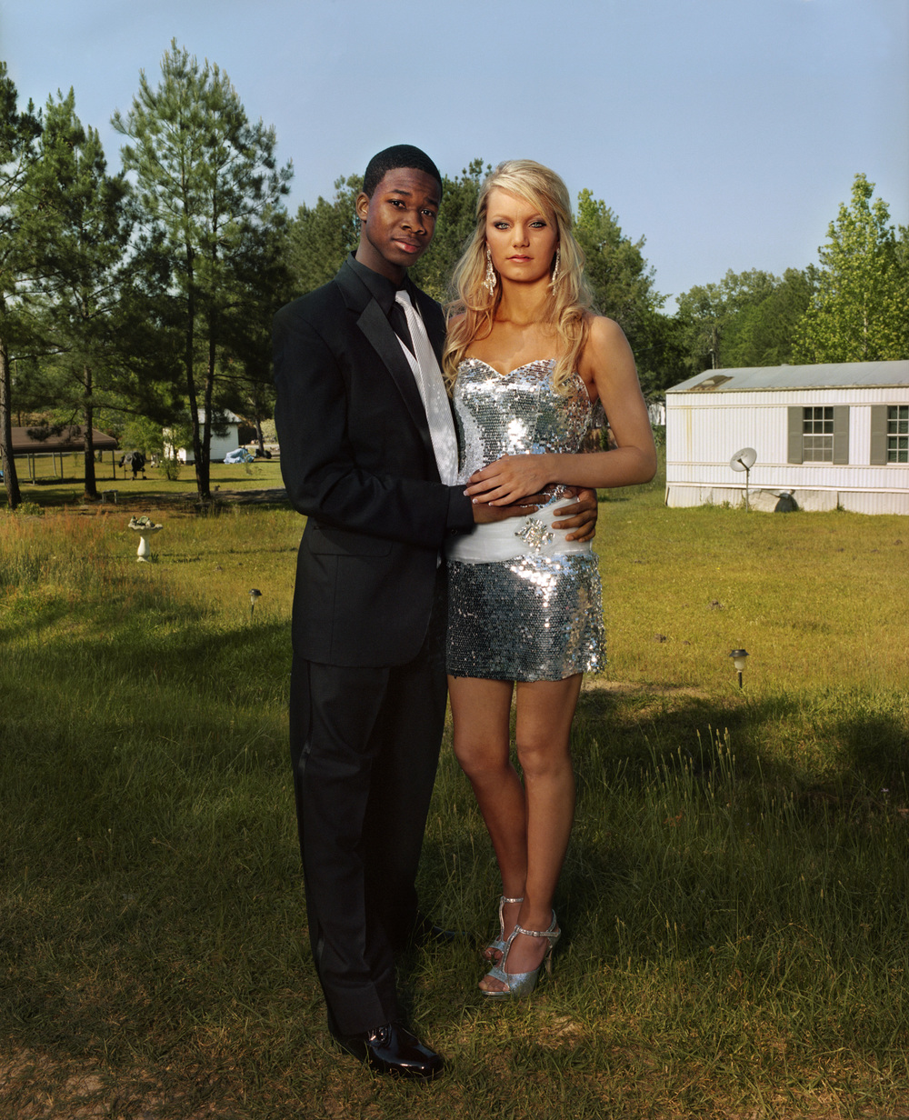 Qu'an and Brooke, Mount Vernon, Georgia, 2012   Two years back, me and Brooke would never be able to go to prom together. It means things are changing. But I still can't believe Justin's gone. If I was him, I would've run too. We were raised that we are guilty until proven innocent and when you see a white man or cop with a gun, you run.  —Qu'an