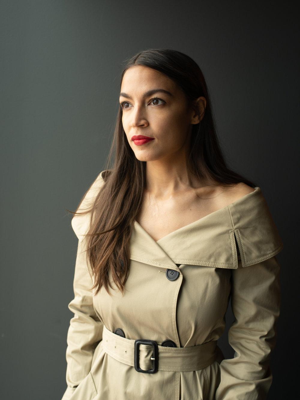 Alexandria Ocasio Cortez / Interview Magazine