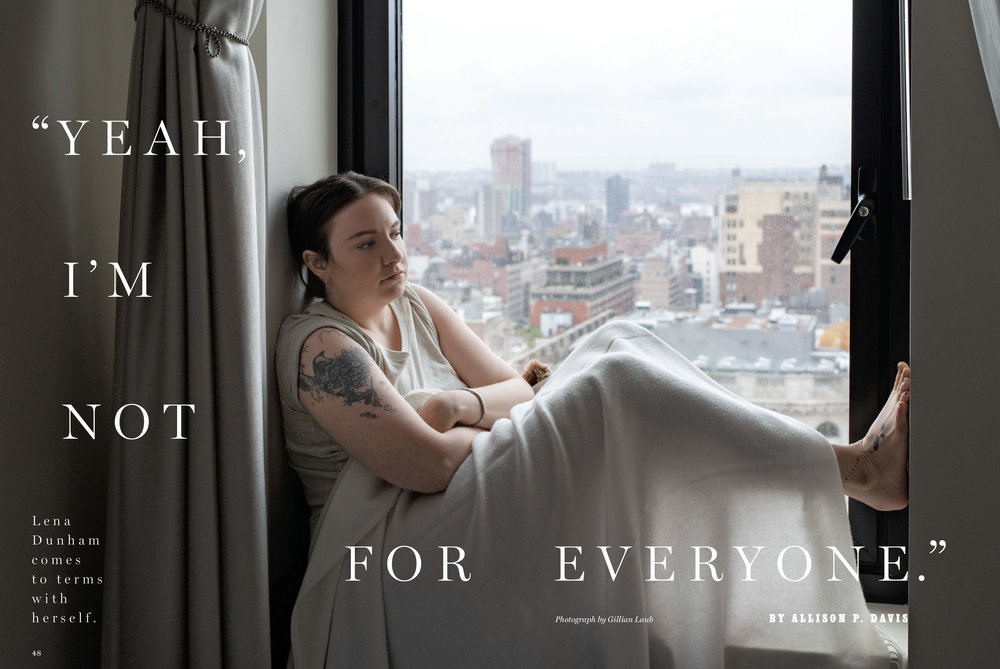 Lena Dunham / New York Magazine