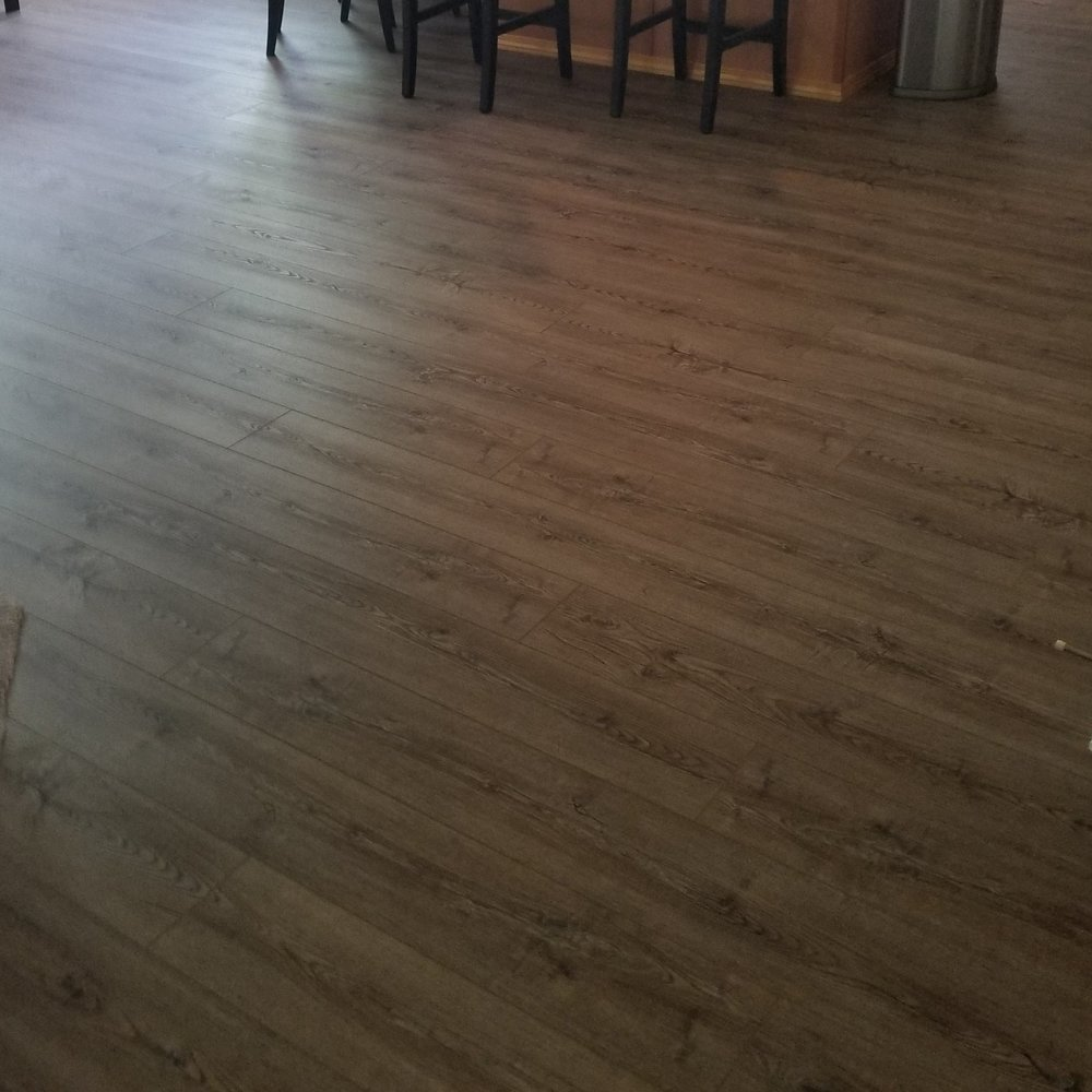 Beautiful, durable, and water-proof, this flooring will maintain it's appeal for many years to come!