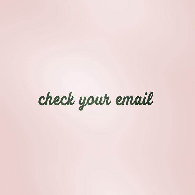 Eeeeek!!! Vendor Mail is HAPPY MAIL...check those inboxes, trash & junk boxes all at the same time for the info you need to live life to the fullest this weekend!
