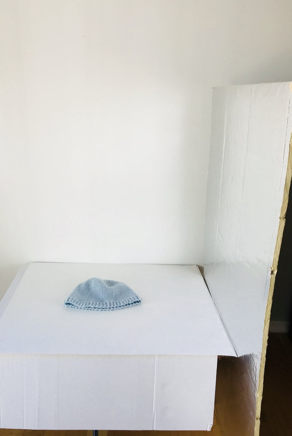 Poster board and polystyrene