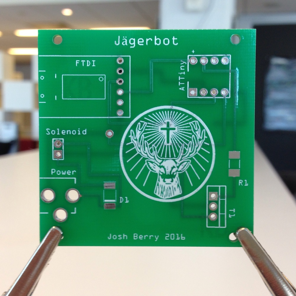 The first version of the circuit board printed by Seeed Studio