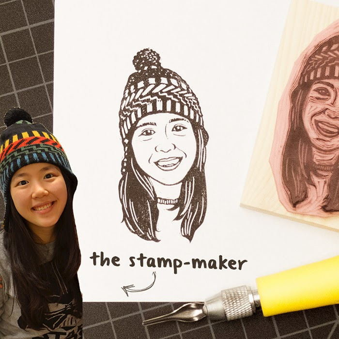 hand-carved-custom-portrait-personalized-rubber-stamp