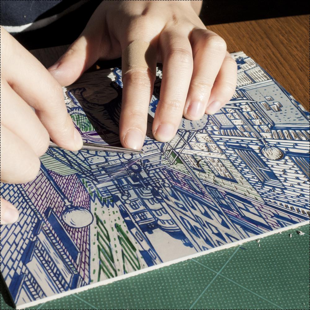 Printmaking supplies and where to buy them — tian gan