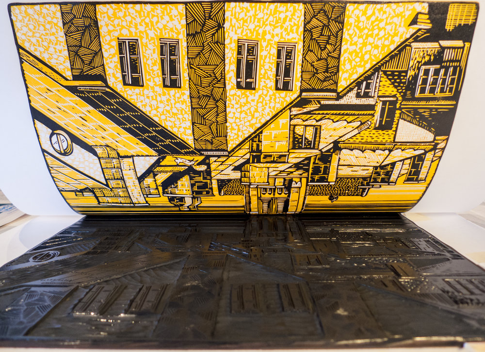 stockholm-st-johannes-kyrka-church-reduction-linocut-1st-layer-yellow-b.jpg