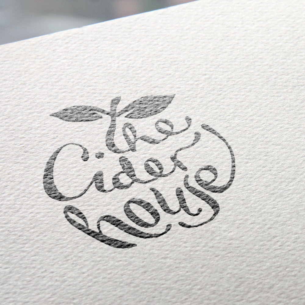 Logo Design, The Cider House