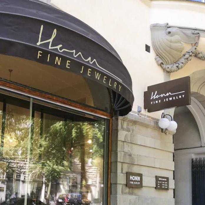 Logo Design, Honn Fine Jewelry