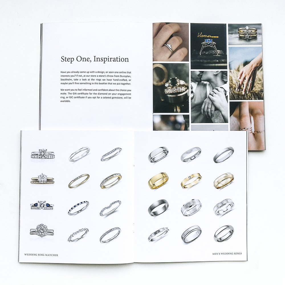 Jewelry Brochure and Leaflet