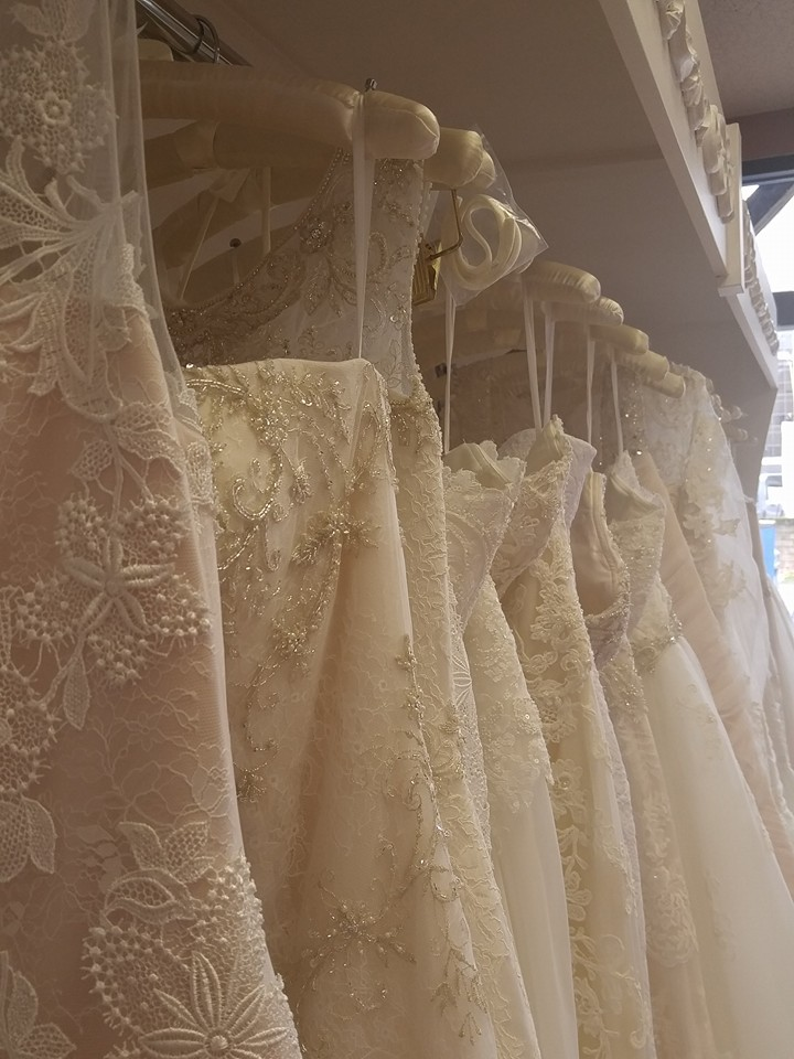 Casablanca Bridal Trunk Show Gowns.