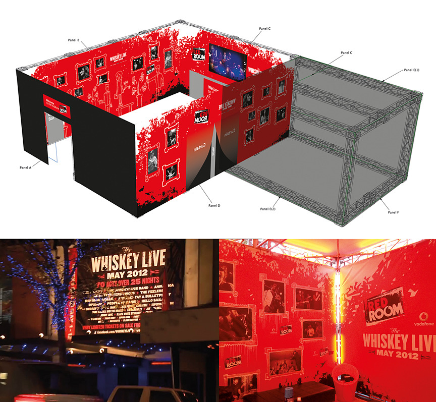 The Vodafone Red Room
