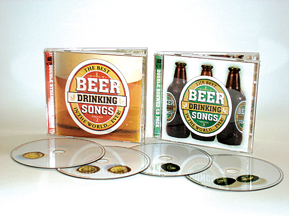 VARIOUS ARTISTS - THE BEST BEER DRINKING SONGS IN THE WORLD... EVER! Vols. 2 & 3