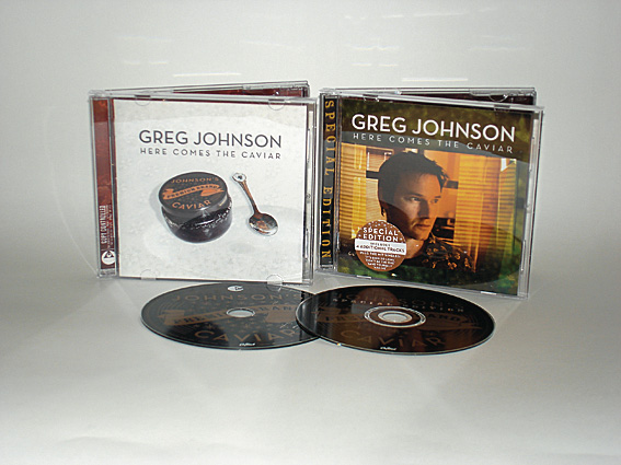 GREG JOHNSON - HERE COMES THE CAVIAR - ALBUM