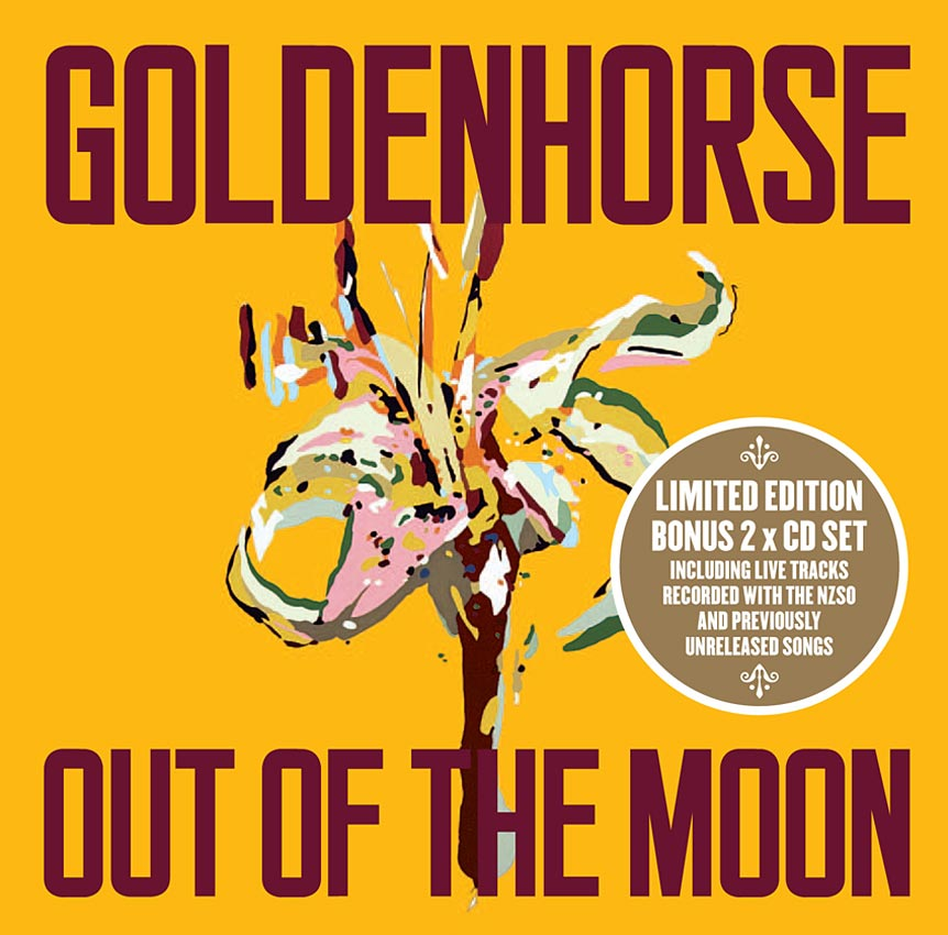 GOLDENHORSE - OUT OF THE MOON - ALBUM