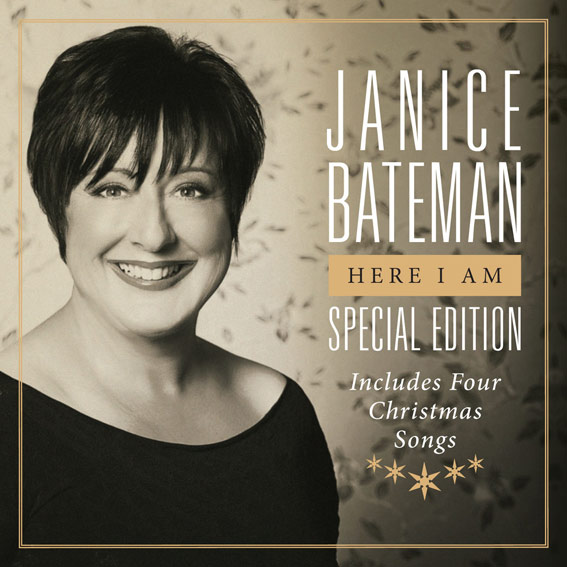 JANICE BATEMAN - HERE I AM - SPECIAL EDITION - ALBUM
