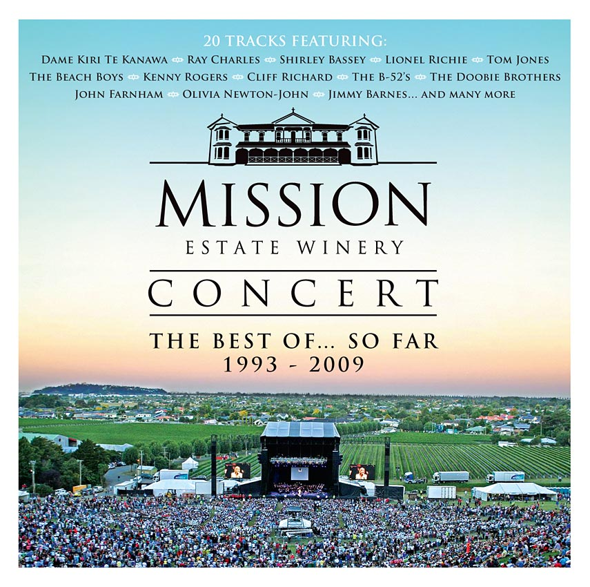 MISSION ESTATE CONCERT - THE BEST OF - COMPILATION