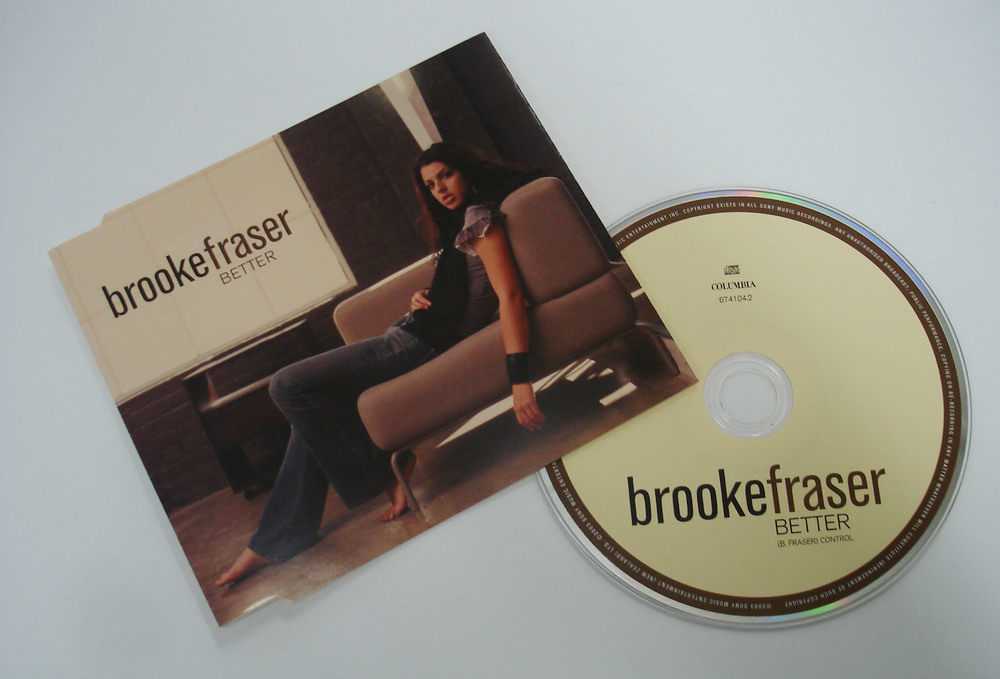 BROOKE FRASER - BETTER - SINGLE